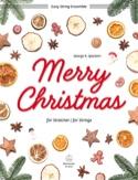 Merry Christmas Noëls Partition Quatuors - laflutedepan.be