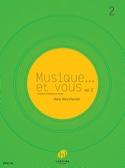 Musique... et vous Volume 2 Marie-Alice Charritat laflutedepan.be
