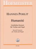 Humanité Hannes Pohlit Partition Violon - laflutedepan.com