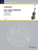 Our Lady's Minstrel Naji Hakim Partition Violon - laflutedepan.com