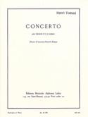 Concerto pour Clarinette Henri Tomasi Partition laflutedepan.com