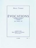 Evocations Henri Tomasi Partition Hautbois - laflutedepan.com