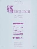 Etude de Concert au Matin Marcel Tournier Partition laflutedepan.com