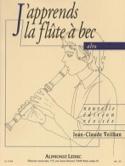 J'apprends la Flûte à Bec alto Jean-Claude Veilhan laflutedepan.com