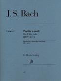 Partita en la mineur BWV 1013 pour flûte seule BACH laflutedepan.com