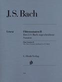 Sonates Pour Flûte Volume 2 BACH Partition laflutedepan.com