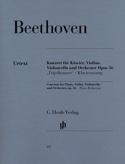 Concerto en ut majeur op. 56 pour piano, violon, violoncelle et orchestre laflutedepan.com