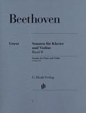 Sonates pour violon, volume 2 BEETHOVEN Partition laflutedepan.com