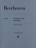 Trios à cordes op. 3, 8 et 9 et duo à cordes WoO 32 laflutedepan.com