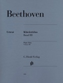 Trios avec piano, volume 3 - Ludwig van Beethoven - laflutedepan.com