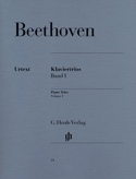 Trios avec piano, volume 1 Ludwig van Beethoven laflutedepan.com