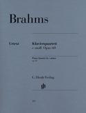Quatuor avec piano en ut mineur op. 60 BRAHMS laflutedepan.com