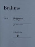 Quintette avec piano en fa mineur op. 34 BRAHMS laflutedepan.com