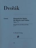 Pièces romantiques op. 75 DVORAK Partition Violon - laflutedepan.com