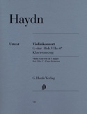 Concerto pour violon en Sol majeur HAYDN Partition laflutedepan.com