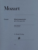 Quatuors avec piano K. 478 et 493 MOZART Partition laflutedepan.com