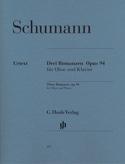 Trois Romances op. 94 pour hautbois et piano SCHUMANN laflutedepan.com