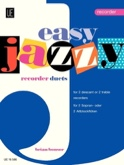 Easy Jazzy Duets - Recorders Brian Bonsor Partition laflutedepan.com