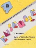 2 Ungarische Tänze -Bläser-Ensemble BRAHMS Partition laflutedepan.com