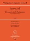 Violinkonzert B-Dur KV 207 - Partitur MOZART laflutedepan.com