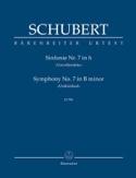 Symphonie Nr. 7 Unvollendete - Partitur SCHUBERT laflutedepan.com