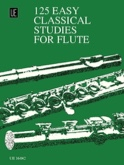 125 Easy Studies for Flute Frans Vester Partition laflutedepan.com