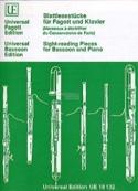 Blattlesestücke für Fagott und Klavier - laflutedepan.com