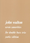 7 Sonorities J. Walton Partition Contrebasse - laflutedepan.com