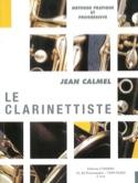 Le Clarinettiste Jean Calmel Partition Clarinette - laflutedepan.com