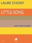 Little Song Laure Choisy Partition Violon - laflutedepan.com