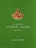 Le Nouveau Violon Classique Volume G Henri Classens laflutedepan.com