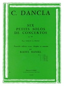 Petit solo de concerto op. 141 n° 1 en Sol Majeur laflutedepan.com