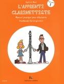 L'apprenti Clarinettiste Volume 1 Sylvie Hue laflutedepan.com