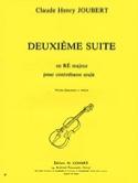 Suite n° 2 en ré majeur Claude-Henry Joubert laflutedepan.com
