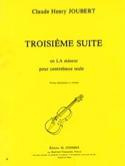 Suite n° 3 en la mineur Claude-Henry Joubert laflutedepan.com