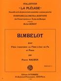 Bimbelot - Flute et Piano Pierre Paubon Partition laflutedepan