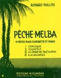 Pêche-Melba Richard Phillips Partition Clarinette - laflutedepan.com