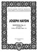 Symphonie Nr. 6 D-dur Hob. 1 : 6 - Partitur HAYDN laflutedepan.com