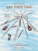 Les Toits Gris Pascal Proust Partition Alto - laflutedepan.com