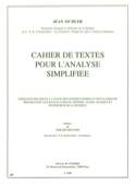 Cahier de Texte pour l' Analyse Simplifiée laflutedepan.com