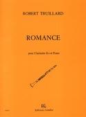 Romance Robert Truillard Partition Clarinette - laflutedepan.com