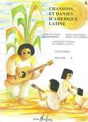 Chansons et danses d'Amérique latine - Recueil A laflutedepan.com