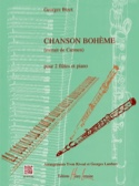 Chanson Bohème –2 flûtes et piano - Georges Bizet - laflutedepan.com
