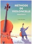 Méthode de Violoncelle Odile Bourin Partition laflutedepan.com