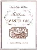 Méthode de mandoline Madeleine Cottin Partition laflutedepan.be