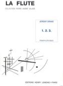 1. 2. 3. - Flûte solo Jeremy Drake Partition laflutedepan.com