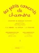 Les Petits Concerts de Chambre Volume 1 – Trio - laflutedepan.com