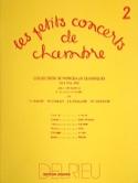 Les Petits Concerts de Chambre Vol.2 - Trio FEUILLARD laflutedepan.com