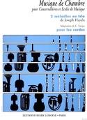 2 Mélodies en trio - Cordes Haydn Joseph / Voirpy laflutedepan.com