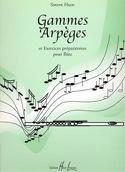 Gammes et Arpèges - Simon Hunt - Partition - laflutedepan.com